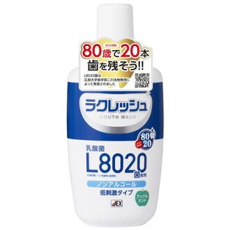 ラクレッシュ L8020 유산 균 사용 마우스 워시 300ml [충 치 예방/잇 몸 질환/구 취 예방]
