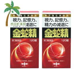 【第1類医薬品】金蛇精 120錠 2個セット★★【送料無料】