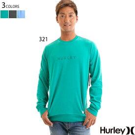 【値下げしました!】HURLEY ハーレー トレーナー 裏 起毛 メンズ ブランド ロゴ 大きいサイズ ビッグシルエット ポケット