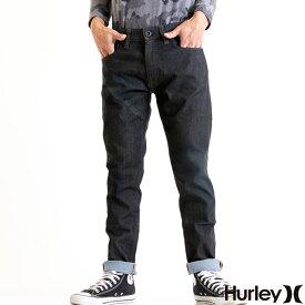HURLEY ハーレー デニムパンツ メンズ ジーンズ スリム ロールアップ ダメージ