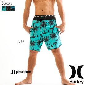 ハーレー 水着 サーフパンツ メンズ 海パン 男性 おしゃれ ハーフ 人気 ブランド ジム スポーツ パーム柄