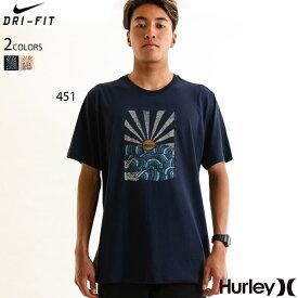 HURLEY Tシャツ メンズ ブランド おしゃれ Nike Dri FIT 大きいサイズ 和柄