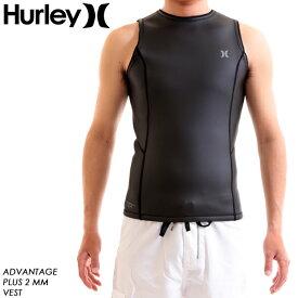 HURLEY ハーレー ウェットスーツ メンズ ADVANTAGE PLUS VEST 2mm ベスト バックジップ