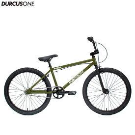 "BMX DURCUSONE BIKES ダーカスワン ""H-STREET"" 24インチ オリーブ 自転車"