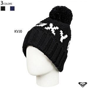 【タイムセール 10%OFFクーポン】スノーボードウェア スノボ スキー ニット帽 ROXY ロキシー ビーニー ボンボン