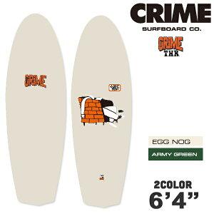 """CRIME SURFBOARDS クライム サーフボード THR 6'4"""" ソフトボード フィンレス セミフィンレス 2カラー"""