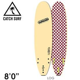 """【在庫一掃 SALE】CATCH SURF ODYSEA LOG 8'0"""" トライフィン サーフィン ソフトボード"""