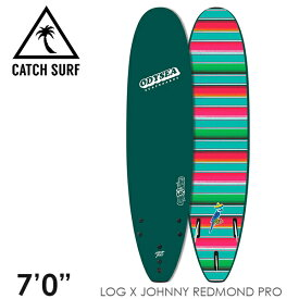"""【3月-6月頃の間に入荷後発送・ノークレームでお願いします】CATCH SURF キャッチサーフ ODYSEA LOG 7'0"""" JOHNNY REDMOND PRO トライフィン 3本 サーフィン ソフトボード"""