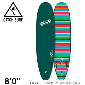 """【3月-6月頃の間に入荷後発送・ノークレームでお願いします】CATCH SURF キャッチサーフ ODYSEA LOG 8'0"""" JOHNNY REDMOND PRO トライフィン 3本 サーフィン ソフトボード"""