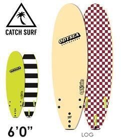 """【在庫一掃 SALE】【3月-6月頃の間に入荷後発送・ノークレームでお願いします】2020 CATCH SURF ODYSEA LOG 6'0"""" トライフィン サーフィン ソフトボード"""