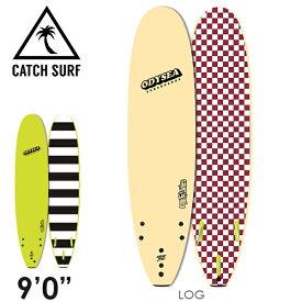 """【在庫一掃 SALE】【3月-6月頃の間に入荷後発送・ノークレームでお願いします】CATCH SURF ODYSEA LOG 9'0"""" トライフィン サーフィン ソフトボード"""