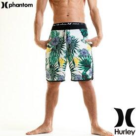 HURLEY ハーレー 水着 メンズ サーフパンツ 花柄 ブランド 最上位モデル 18丈 伸縮レベルA