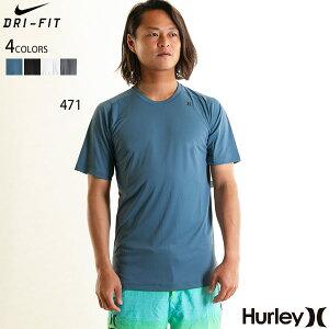 【お買い物マラソン限定 ポイント還元】ハーレー HURLEY ラッシュガード メンズ NIKE ドライフィット 薄手 Tシャツ UPF50+