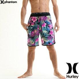 ハーレー 水着 メンズ サーフパンツ 花柄 ブランド 最上位モデル 18丈 伸縮レベルA