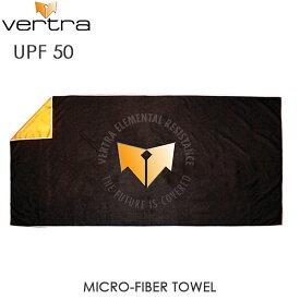 VERTRA バートラ CLASSIC MICRO-FIBER TOWEL 大型 タオル 薄手 UPF50 日焼け止め 80x160cm