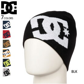 【値下げしました!】DC SHOE ディーシー メンズ レディース ビーニー ニット帽 帽子 ロゴ BIG STAR 正規販売店