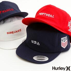 【マラソン限定 P最大43.5倍】HURLEY ハーレー メンズ スナップバックキャップ 帽子 ワールドカップ