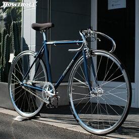 """ピストバイク HOW I ROLL ハウアイロール """"CHAMP"""" メタリックブルー 自転車 4サイズ"""