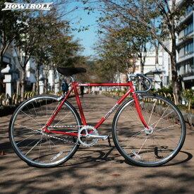 """ピストバイク HOW I ROLL ハウアイロール """"CHAMP"""" パールレッド 自転車 4サイズ"""