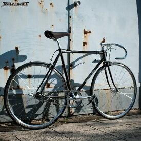"""ピストバイク HOW I ROLL ハウアイロール """"CHAMP"""" メタリックグレー 自転車 4サイズ"""