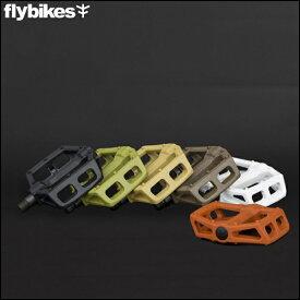 """【動画あり】BMX FLYBIKES フライバイク """"RUBEN GRAPHITE PEDAL"""" グラファイト プラペダル 自転車 6色バリ"""