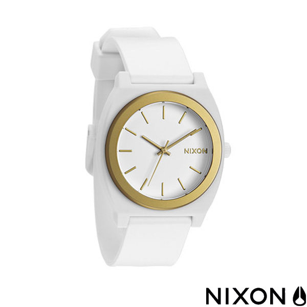 NIXON ニクソン 腕時計 TIME TELLER P タイムテラー ユニセックス ウォッチ WHITE/GOLD ANO