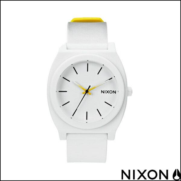 NIXON ニクソン 腕時計 TIME TELLER P タイムテラー ユニセックス ウォッチ BLACK/WHITE/YELLOW FADE