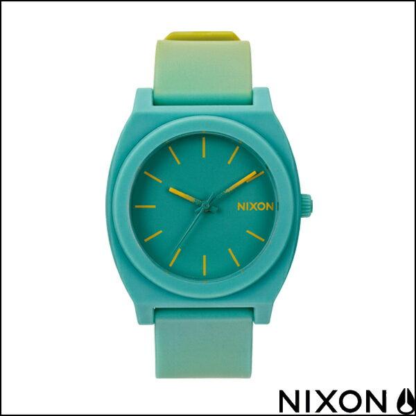 NIXON ニクソン 腕時計 TIME TELLER P タイムテラー ユニセックス ウォッチ YELLOW/TEAL FADE