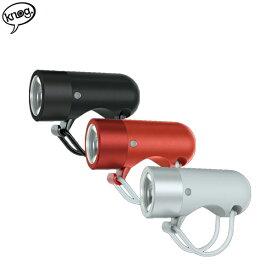 "knog ノグ ""PLUG"" フロント 自転車 ライト LED USB充電 3色バリ"