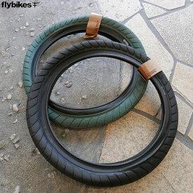 """BMX FLYBIKES フライバイク """"FUEGO TIRE 18"""" 18インチ タイヤ 2色バリ"""