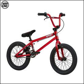 """BMX MANKIND """"PLANET 16"""" 16インチ クロームレッド キッズバイク 自転車"""