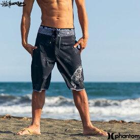 【値下げしました!】HURLEY ハーレー メンズ 水着 サーフパンツ フィットネス ジム おしゃれ 海パン 黒 和柄 レトロ 人気 ブランド