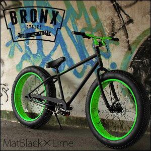 """【超人気!】ファットバイク """"BRONX 4.0"""" ブロンクス FATBIKE 26インチ 自転車 6色バリ"""