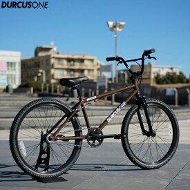 "BMX DURCUSONE BIKES ダーカスワン ""H-STREET"" 24インチ レッド 自転車"