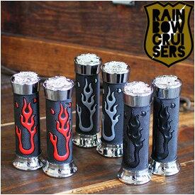ビーチクルーザー RAINBOW FLARE GRIP レインボー フレアーグリップ 3色バリ