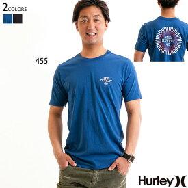 【値下げしました!】HURLEY メンズ Tシャツ 半袖 プリント SWIRLED TEE