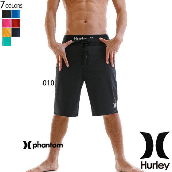 ハーレー 水着 メンズ サーフパンツ ブランド 無地 ロゴ ブラック