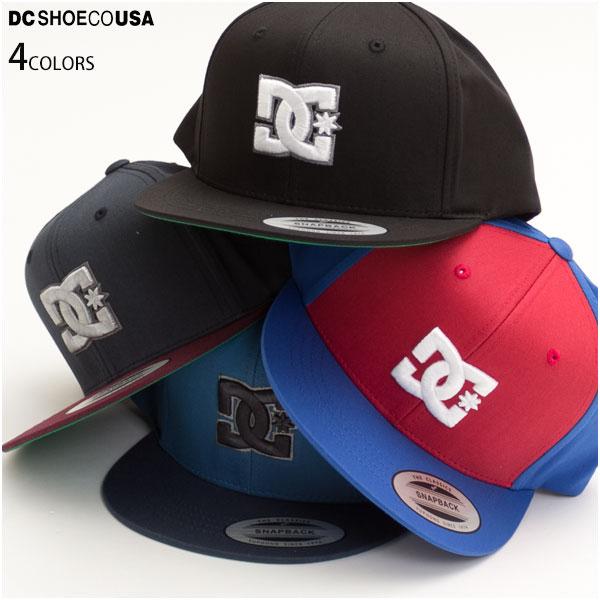 DC SHOE ディーシー キッズ ユース ジュニア キャップ 帽子 NAPPY BOY スナップバック ワッペン ロゴ 正規販売店