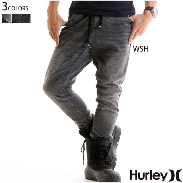HURLEY ハーレー メンズ ボトムス スウェットパンツ デニム風【お買い物マラソン限定 ポイントアップ】