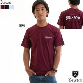 【値下げしました!】Brixton ブリクストン tシャツ メンズ CINEMA S/S STANDARD TEE