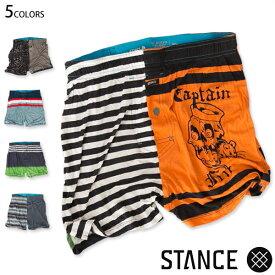 【値下げしました!】STANCE SOCKS UNDERWEAR アンダーウェア メンズ ボクサーパンツ トランクス 下着 アンダーパンツ ボーダー タイダイ スタンス正規販売店