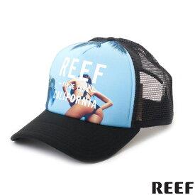 【値下げしました!】REEF メッシュキャップ 帽子 スナップバック MISS CALI HAT リーフガール パームツリー リーフ正規販売店
