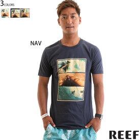 【値下げしました!】REEF リーフ 半袖 Tシャツ メンズ スリムフィット WAY TEE 正規販売店