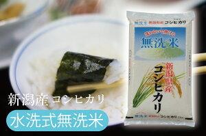 無洗米 新潟産 こしひかり 10kg 送料無料 新潟 コシヒカリ お米 米 10キロ ※沖縄 離島は配送できません