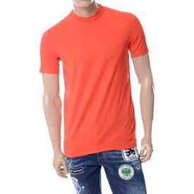 ディースクエアード (Dsquared2) ラウンドネック半袖Tシャツ レッドd9m201320490 2017SS メンズ春夏 送料無料 正規取扱