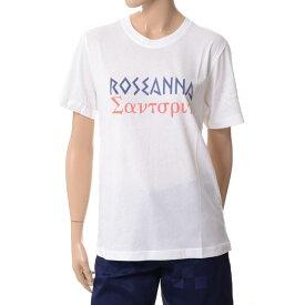 ローズアンナ (ROSEANNA) ロゴプリントTシャツ コットンジャージー ホワイトjersbarrymyob000 2017SS レディース春夏新作 送料無料 正規取扱