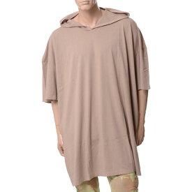 フェイスコネクション (Faith Connexion) Hd Ov Ts フード付きオーバーサイズTシャツ ベージュm3722j00007250 2018SS メンズ春夏 10,800円以上購入で送料無料 正規取扱