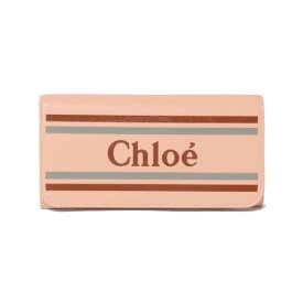 クロエ (chloe) VICK 二つ折り長財布 ロングウォレット カーフスキン ビスケットピンクchc19sp065a886h7 2019SS レディース春夏新作 送料無料 正規取扱