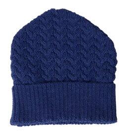ミゼリコルディア (Misericordia) ニット帽 コットン アルパカ ネイビー 1421a36003 ビーニー,毛,アルパカ,黒,アクセサリー 10,800円以上購入で送料無料 【正規取扱】