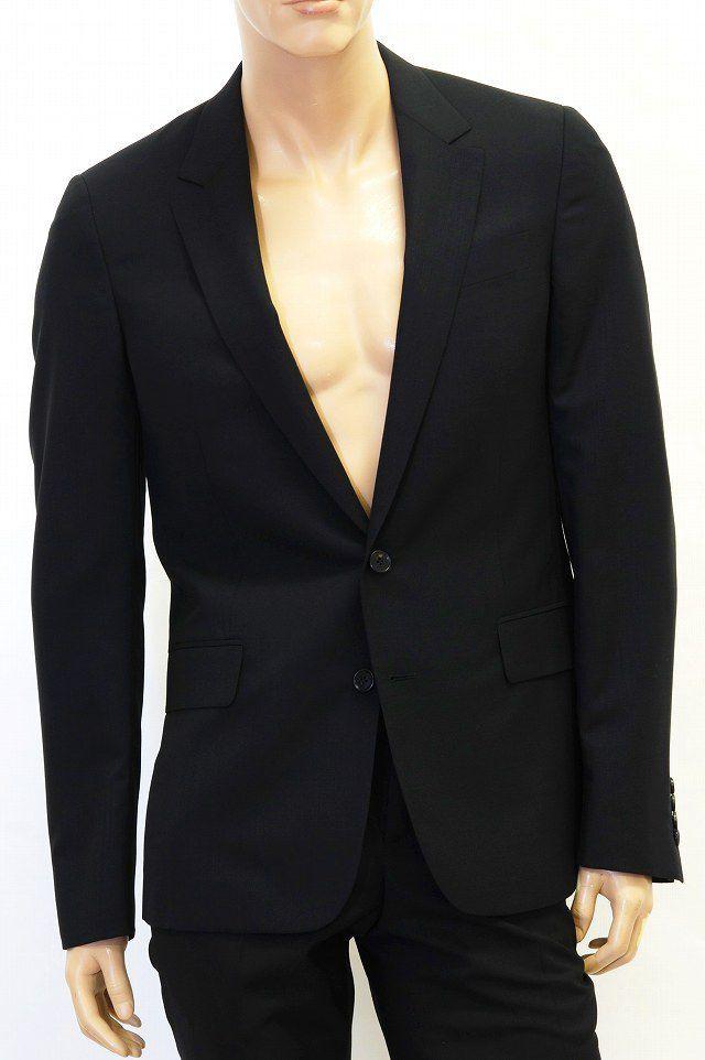 クリスヴァンアッシュ (KRIS VAN ASSCHE) スーツジャケット ブラック 春夏素材10,800円以上購入で送料無料 【正規取扱】